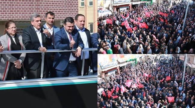 Beyazgül, Viranşehir'i Ak Belediyecilikle Buluşturacağız