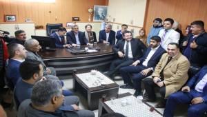 Beyazgül Viranşehir STK'larını Ziyaret Etti