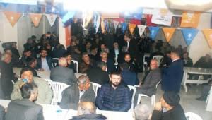 Bozova Halkı AK Parti Adayına Sahip Çıkıyor