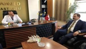 Canpolat Ahmet İnan'ı Ziyaret Etti