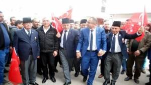 Ceylanpınar'daki Gaziler de AK Parti Dedi