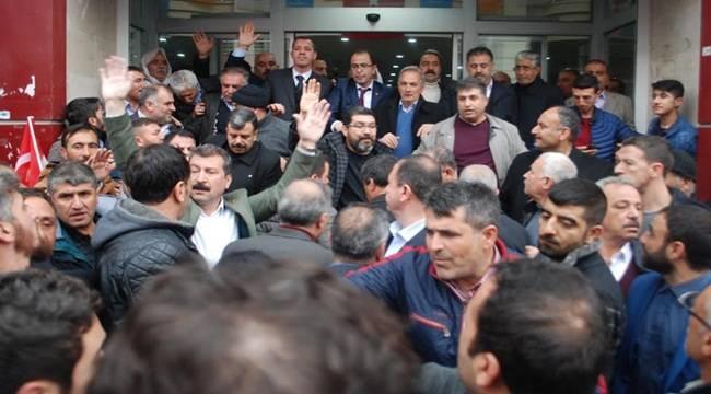 Ceylanpınar'ın Büyük Aşiretleri AK Parti'ye Katıldı