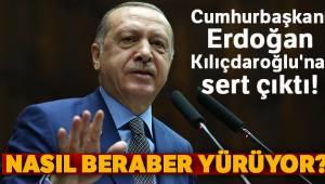 Cumhurbaşkanı Erdoğan Kılıçdaroğlu'na Sert Çıktı