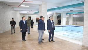 Demirkol Açılış Öncesi Kültür Merkezini İnceledi