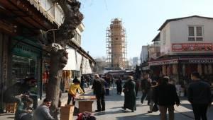 Dipsiz Minare Restore Ediliyor