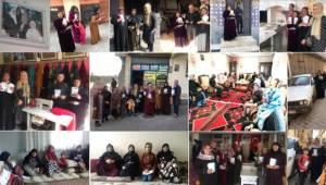 Eyyübiye AK Kadınlar Kapı Kapı Dolaşıyor