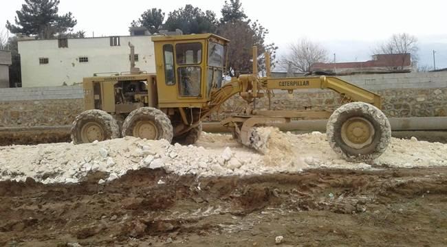 Harran'da Yol Çalışmaları Aralıksız Devam Ediyor