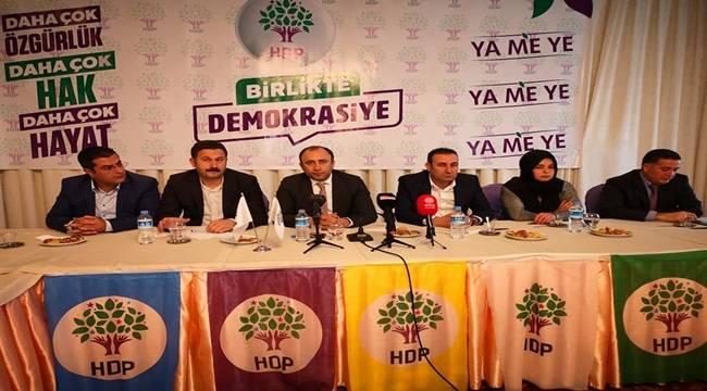 HDP Şanlıurfa'da Adaylarını Geri Çekti