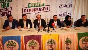 HDP Şanlıurfa Kararını Verdi