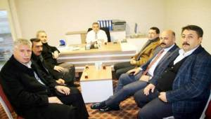 Hilvan AK Teşkilattan AK Şanlıurfa SKM'ye Ziyaret