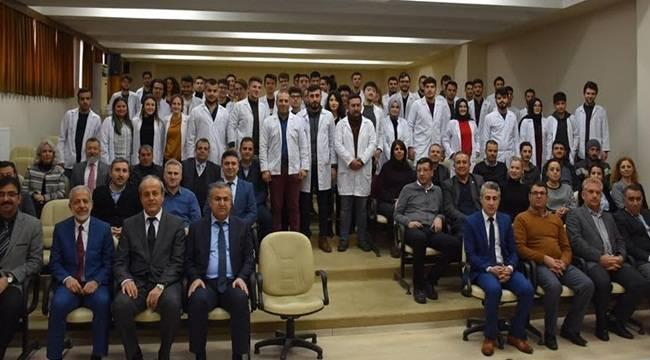 HRÜ'de Veteriner Adayları Beyaz Önlük Giydiler