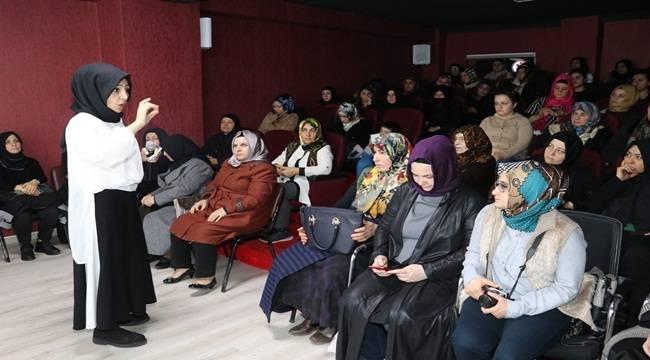 Kadınlara Stres Yönetimi Semineri Verildi