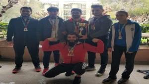 Karaköprü 11 Madalya İle Döndü