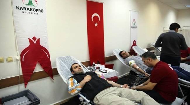 Karaköprü Belediyesi Kan Bağışı Gerçekleştirdi