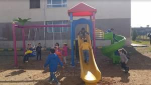 Karaköprü Kırsalında Çocuklar Oyun Parkına Kavuşuyor