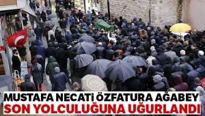 Mustafa Necati Özfatura son yolculuğuna uğurlandı