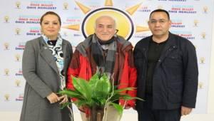Prof.Dr. Mermut ve Çakmaklı'dan AK SKM'ye Ziyaret