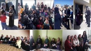 Şanlıurfa AK Kadınlar Çat Kapı Ziyaretinde