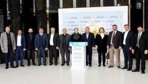 Şanlıurfa BB Meclis Üyelerinden AK SKM'ye ziyaret
