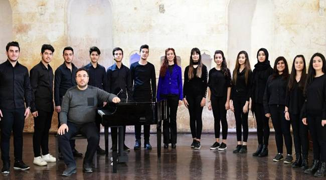 Şanlıurfa Büyükşehir Gençlik Korosu Kuruldu