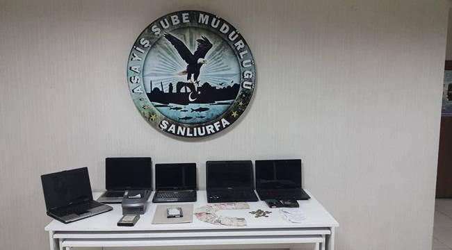 Şanlıurfa Kaçak Bahis Operasyonu 6 Gözaltı