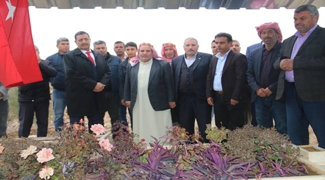 Şehit Ali Aydar Kabri Başında Anıldı