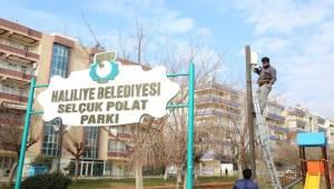 Selçuk Polat Parkına Kameralar Yerleştirildi