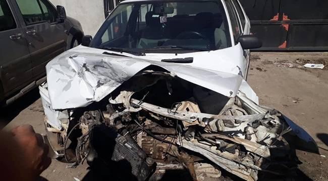 Siverek-Şanlıurfa Yolunda Kaza 4 Yaralı