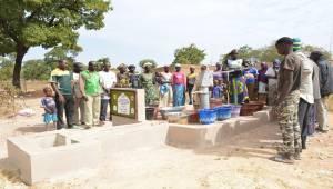 Siverekli Öğrenciler Mali'de Su Kuyusu Açtı
