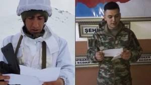 Siverekli Öğrencilerden Askerlere Teşekkür Mektubu