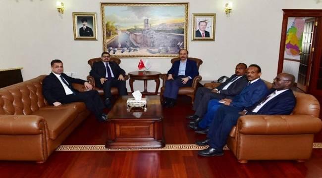 Sudan Büyükelçisi Şanlıurfa'ya Geldi