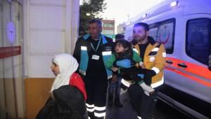 Suriyeli Aile Karbonmonoksit Gazından Zehirlendi