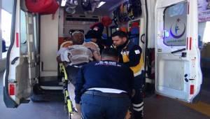 Trafo Patladı Bir İşçi Yanarak Yaralandı