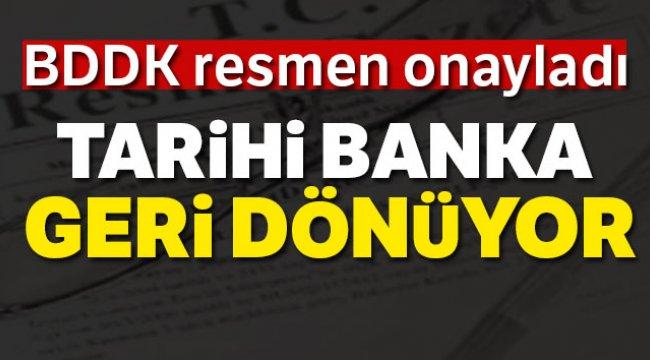 Türkiye Emlak Katılım Bankası'na faaliyet izni Resmi Gazete'de