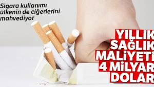Tütün ürünleri çift yönlü bir veba hastalığı