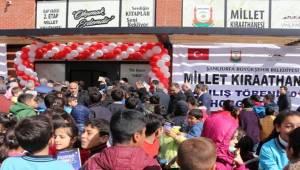 Urfa'da Millet Kıraathanesi Hizmete Açıldı