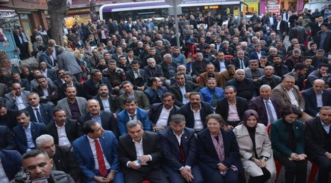 Ahmet Kenan Kayral'ın Seçim Bürosu Açıldı