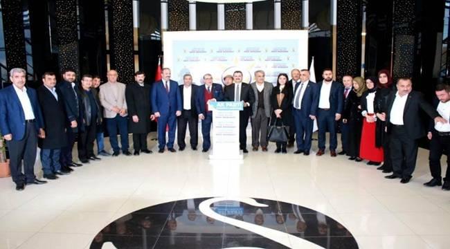 AK Vekillerden AK Parti Şanlıurfa İl SKM'ye Ziyaret