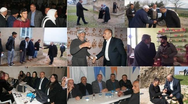 Aksoy Projelerini Seçmenlere Anlatıyor