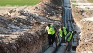 Akziyaret İçme Suyu Projesinde Sona Doğru