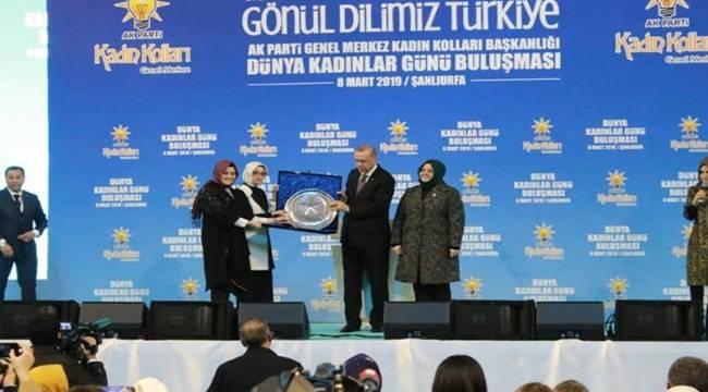 Başkan Güven'den Erdoğan'a Anlamlı Hediye