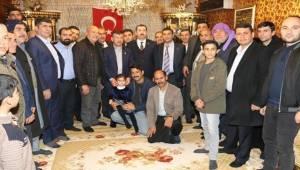 Baydilli Akbayır'da Ev Toplantısına Katıldı