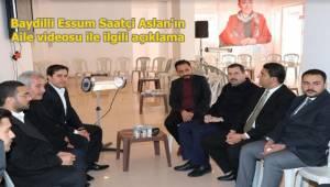 Baydilli'den Rakibinin Videosu İle İlgili Açıklama