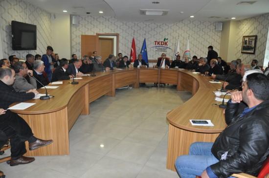 Besi OSB üyelerinden TKDK hibelerine büyük ilgi