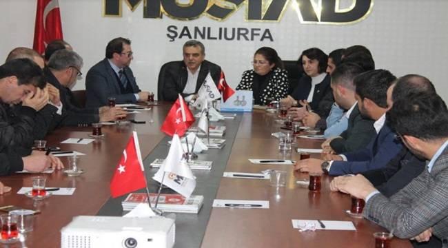 Beyazgül'den MÜSİAD'a Ziyaret