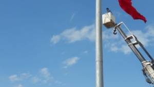 Ceylanpınar'da ki dev bayrakla ilgili açıklama yapıldı