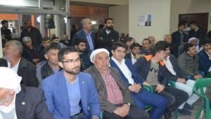 Ceylanpınar HÜDA PAR'dan AK Parti'ye Destek