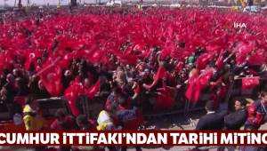 Cumhur İttifakı Büyük İstanbul Mitingi