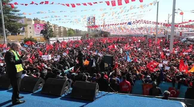 Cumhurbaşkanı Erdoğan Bizim Arkamızda da Şanlıurfa Var