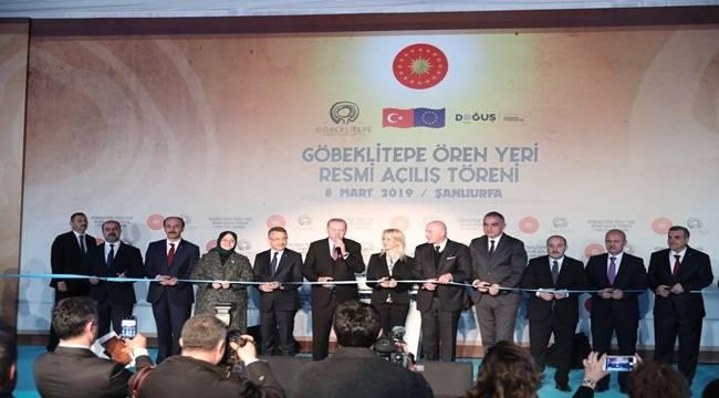 Cumhurbaşkanı Erdoğan Göbeklitepe'nin Açılışını Yaptı